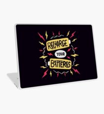 Recharge your batteries Laptop Skin