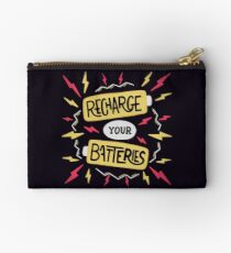 Recharge your batteries Zipper Pouch