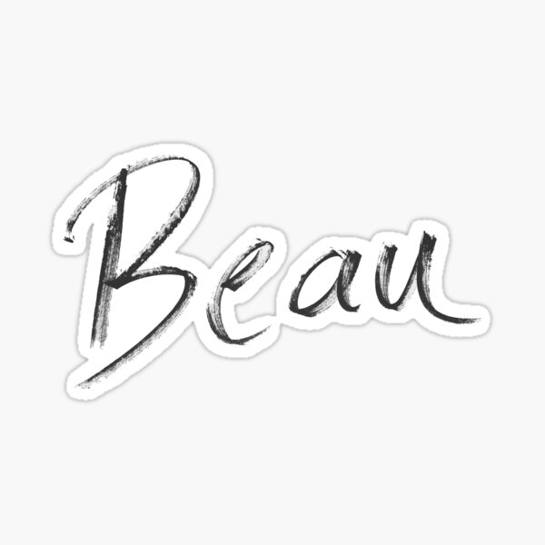 Beau Sticker