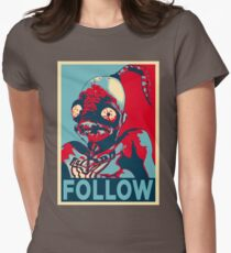 ODDWORLD ABE FOLLOW Womens Fitted T-Shirt