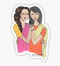 Indian Girls Sticker