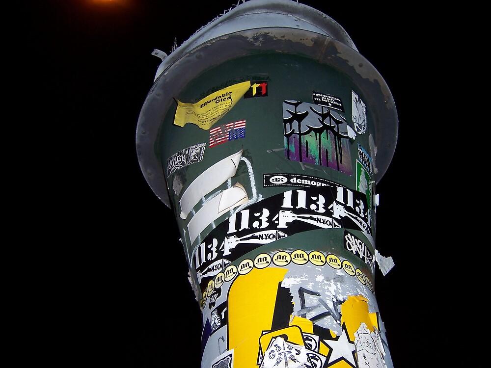 SoHo street art 5 by Vanessa Potier