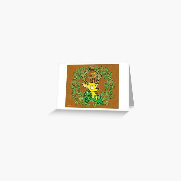 St Hubert Greeting Card