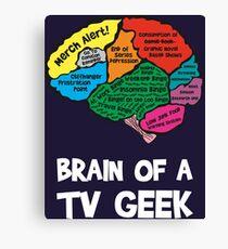 Geek Brain Canvas Print