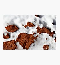 Snow and Sand Photographic Print