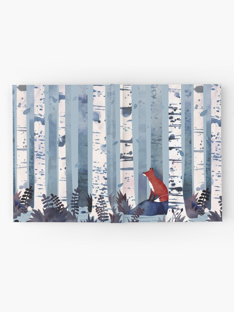 Alternate view of The Birches (in Blue) Hardcover Journal