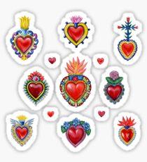 Mexikanische Heilige Herzen Sticker
