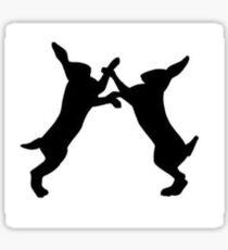 Lush Fighting Animal testing logo Sticker