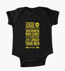 Cute and Cool Funny Merchandise - A Little Extra Weight - Best Gift for Men, Women, Mom, Dad, Boyfriend, Girlfriend, Husband, Wife, Him, Her, Couples, Grandma, Brother or Friends One Piece - Short Sleeve
