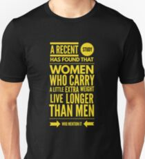 Cute and Cool Funny Merchandise - A Little Extra Weight - Best Gift for Men, Women, Mom, Dad, Boyfriend, Girlfriend, Husband, Wife, Him, Her, Couples, Grandma, Brother or Friends Unisex T-Shirt