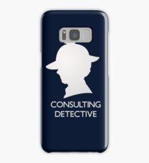 Consulting Detective Sherlock Shirt - Dark Samsung Galaxy Case/Skin