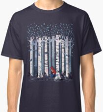 The Birches (in Blue) Classic T-Shirt