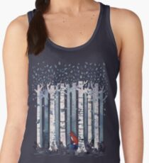 The Birches (in Blue) Women's Tank Top