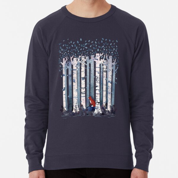 The Birches (in Blue) Lightweight Sweatshirt