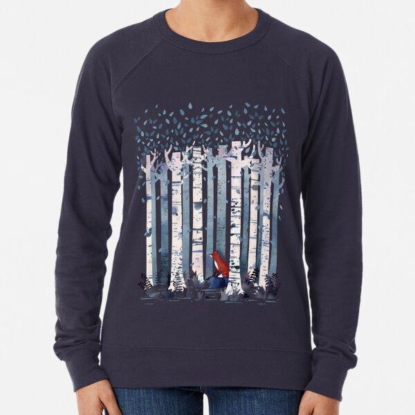 The Birches (in Blue) Lightweight Sweatshirt