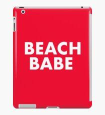 Beach Babe - Red White iPad Case/Skin