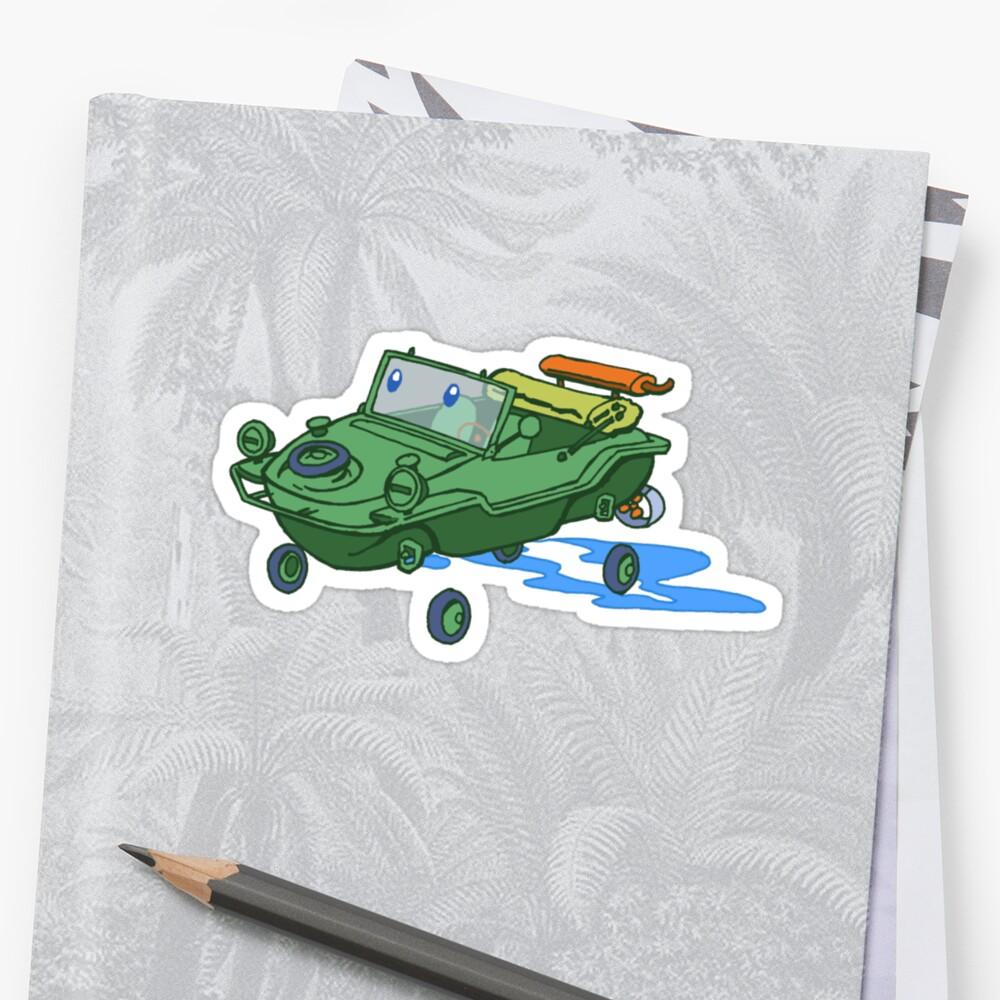 little green schwimmwagen by johnkratovil