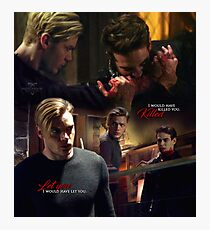 Jace and Simon Photographic Print