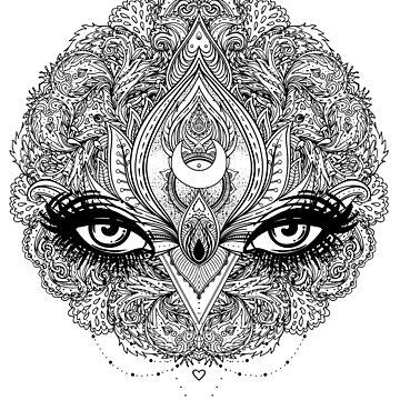Mandala Eyes by varka