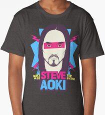Steve Aoki - chef - fan art Long T-Shirt