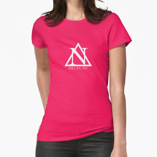 Delta NU Fitted T-Shirt