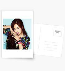 SNSD Girls Generation-Yuri Postcards