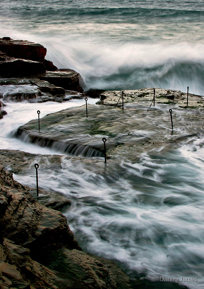 Stormy Seas by Danny James
