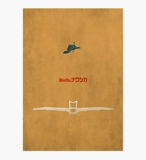Ghibli Minimalist 'Nausicaä of the Valley of the Wind' Photographic Print