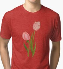 Too LIttle Tulips Tri-blend T-Shirt