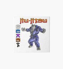 Jiu-Jitsu Beast Rhino Art Board