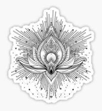 Sacred Lotus Sticker