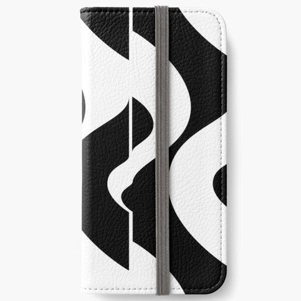 OpArt Waves iPhone Flip-Case