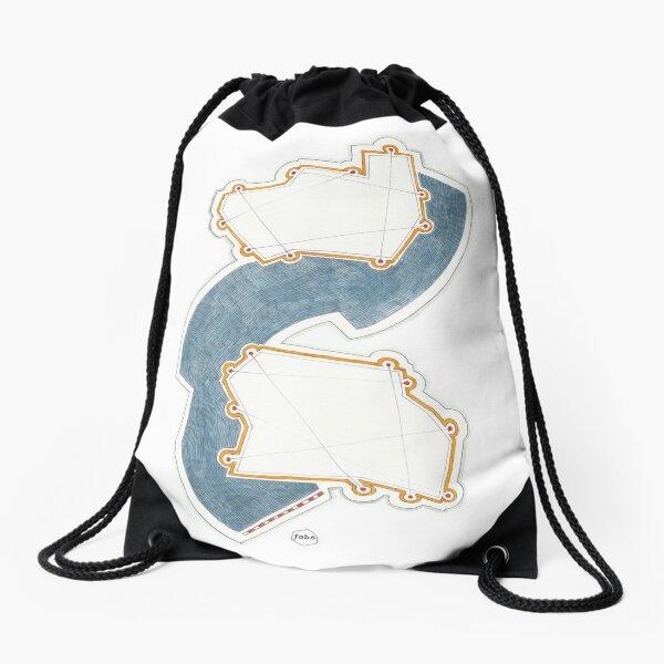 Jazz Drawing, RikaPulpa_Take02 Drawstring Bag