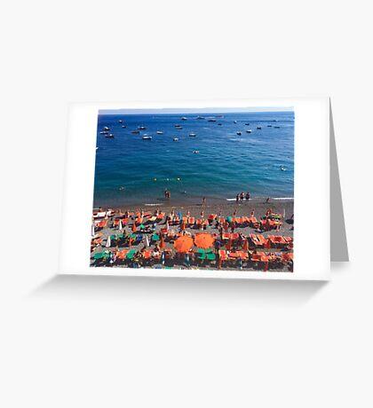 Summer in Positano Greeting Card