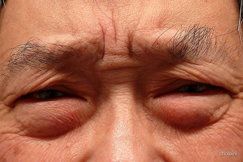 An Oldman's Eyes by chowini