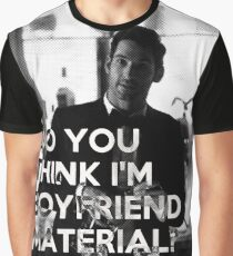 Lucifer quote - boyfriend material Graphic T-Shirt