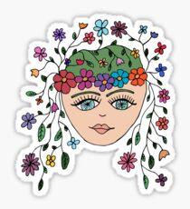 The Original Flower Child aka HIPPY Sticker