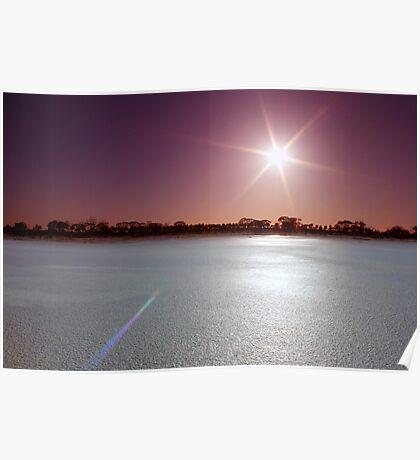 Lake Magic Sunrise I Poster