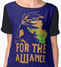 For The Alliance Chiffon Top