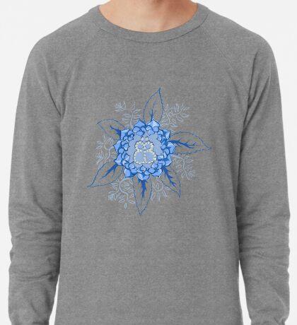 Butterflyflower Leichtes Sweatshirt