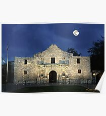 Remembering The Alamo Poster