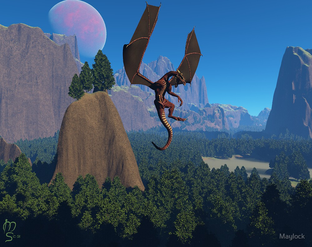Dragon @ Sandy Canyon by Maylock