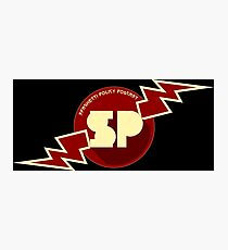 Spaghetti Policy Podcast! Photographic Print