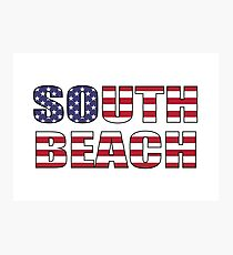South Beach Photographic Print