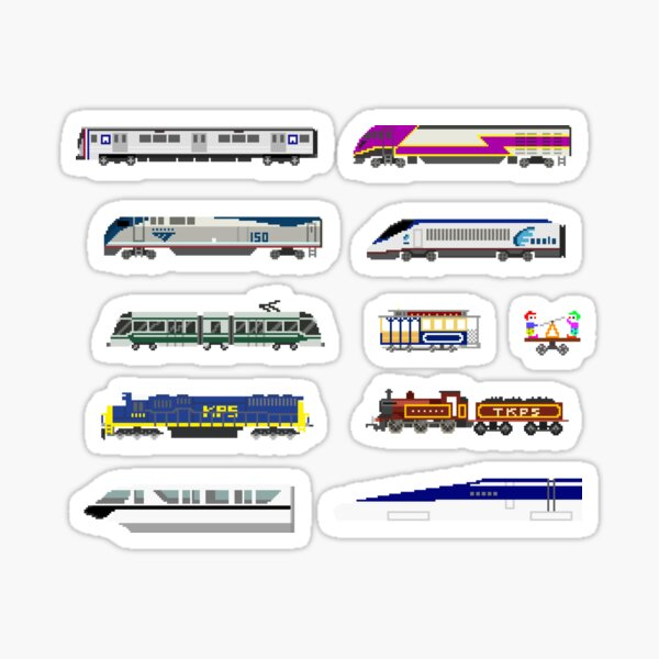 Railway Vehicles - The Kids' Picture Show Sticker