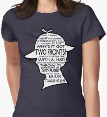 Sherlock's Hat Rant - Dark Women's Fitted T-Shirt