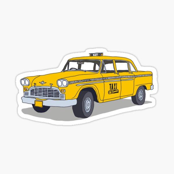Taxi de Nueva York Pegatina