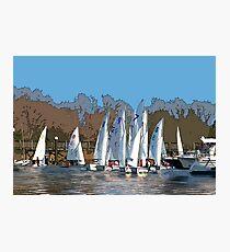 Sailing Team Series Photographic Print