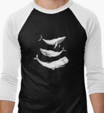 Whales in black T-Shirt