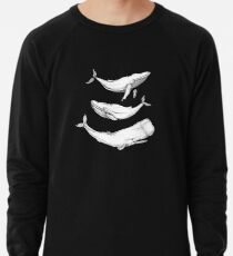 Wale in Schwarz Leichtes Sweatshirt